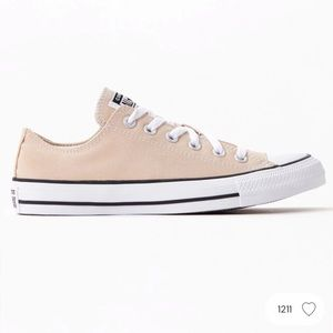 Practically new Tan Converse All Stars- 7